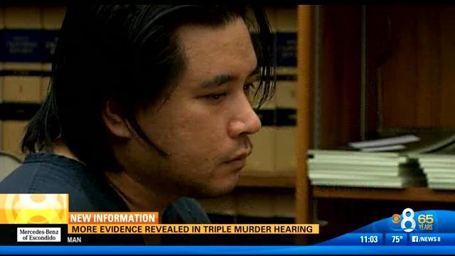 Triple murder suspect Carlo Mercado.
