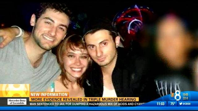 (Left to right) Murder victims Salvatore Belvedere, Ilona Flint and Gianni Belvedere.