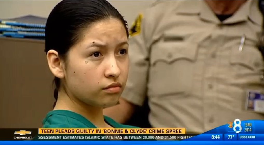 Cindy Garcia, 19, pleads guilty Thursday in downtown court