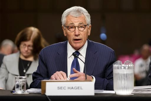 Defense Secretary Chuck Hagel testifies before the Senate Armed Services Committee. (AP)