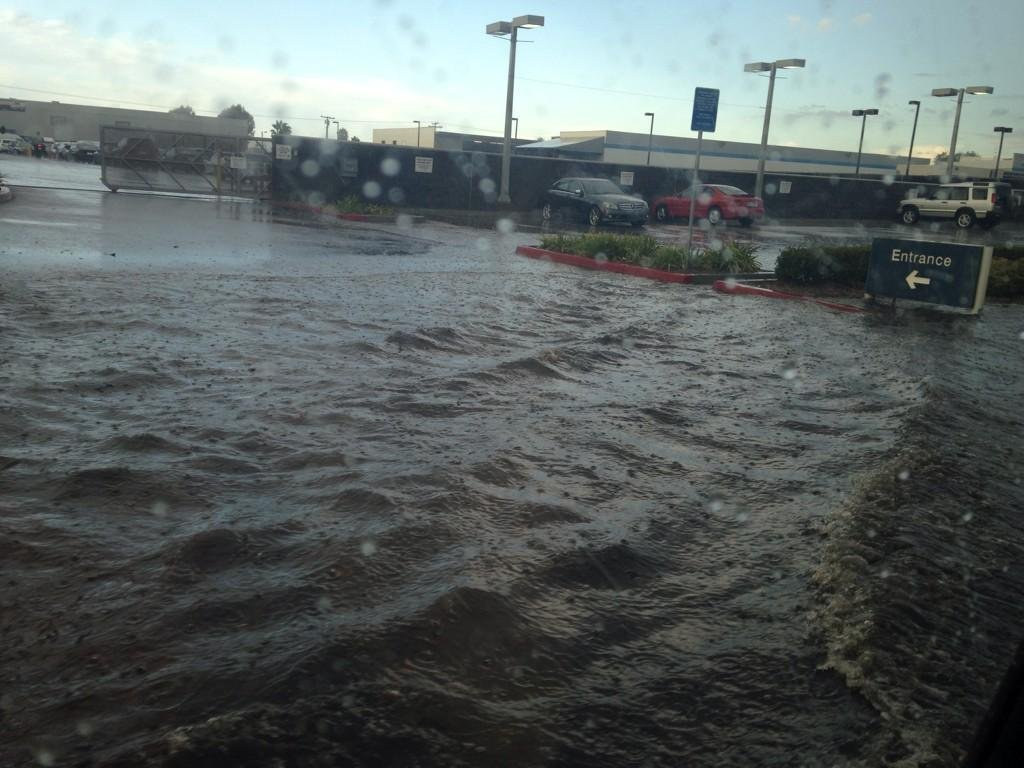 This photo shows the entrance to Penske on Balboa Tuesday, September 16, 2014. Photo courtesy: @ShannonCBS8