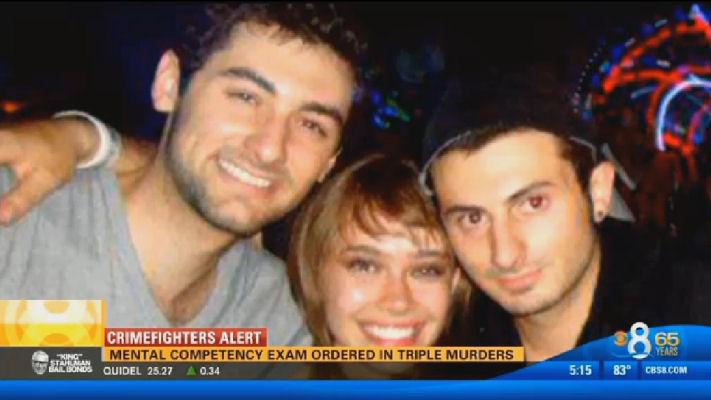 Murder victims Gianni & Salvatore Belvedere and Ilona Flint