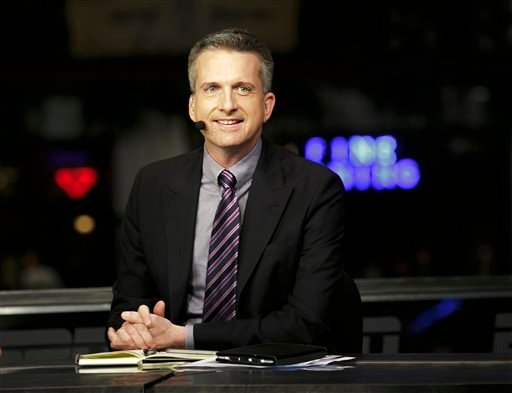 This Jan. 30, 2013, photo provided by ESPN Images shows Bill Simmons on the set of NBA Countdown in New Orleans.