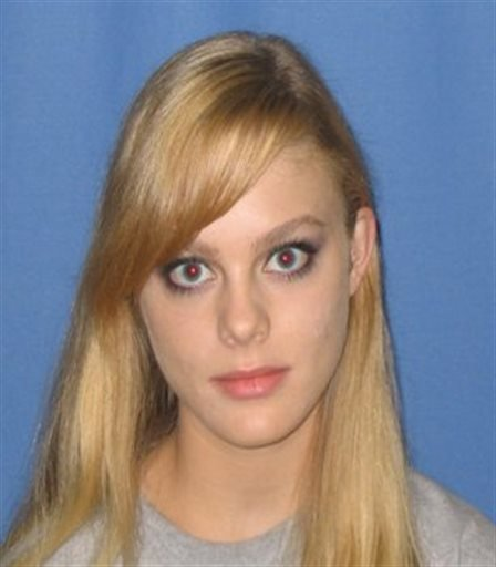 This undated file photo provided by the Virginia State Police, missing Virginia Tech student Morgan Harrington, 20, of Roanoke County, Va., is shown.