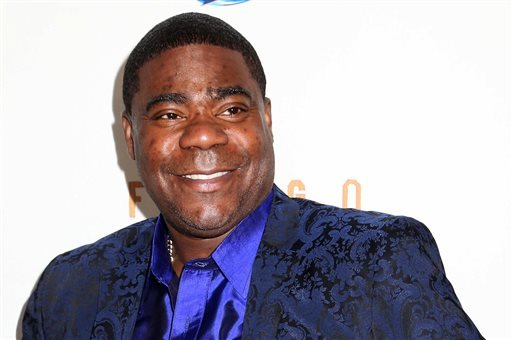 """In this April 9, 2014 file photo, actor Tracy Morgan attends the FX Networks Upfront premiere screening of """"Fargo"""" at the SVA Theater in New York."""