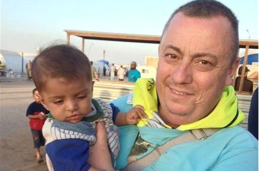 This undated family handout photo shows British man Alan Henning, who was held hostage by the Islamic State group. (AP)