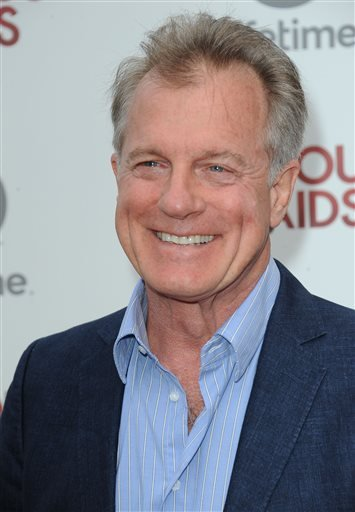 """In this June 17, 2013 file photo, Stephen Collins attends the premiere party for """"Devious Maids"""" at the Bel-Air Bay Club in Los Angeles."""