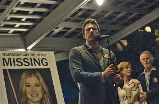 """This image released by 20th Century Fox shows Ben Affleck in a scene from """"Gone Girl."""" (AP Photo/20th Century Fox, Merrick Morton)"""