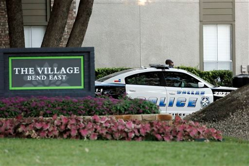 The Village Bend East apartments where a second healthcare worker tested positive for Ebola, Wednesday, Oct. 15, 2014, in Dallas. AP Photo/Brandon Wade