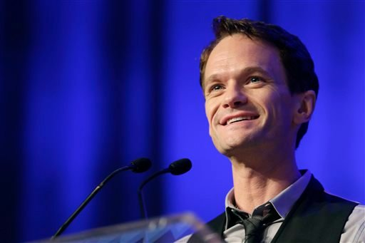 In this May 29, 2014 file photo, actor Neil Patrick Harris speaks at Book Expo America in New York. Harris is set to host the Oscars next year. (AP Photo/Mark Lennihan, File)