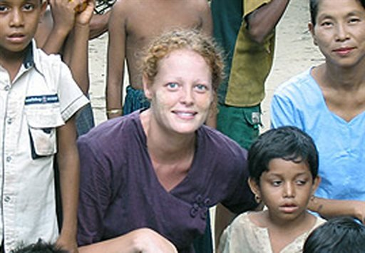 This undated image provided by University of Texas at Arlington shows Kaci Hickox. (AP)