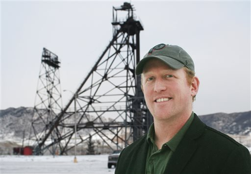 In this photo taken on Dec. 20, 2013, Robert O'Neill a former Navy Seal team member, poses for a photo in Butte, Mont. O'Neill, a retired Navy SEAL who says he shot bin Laden in the head, publicly identified himself Thursday, Nov. 6, 2014.