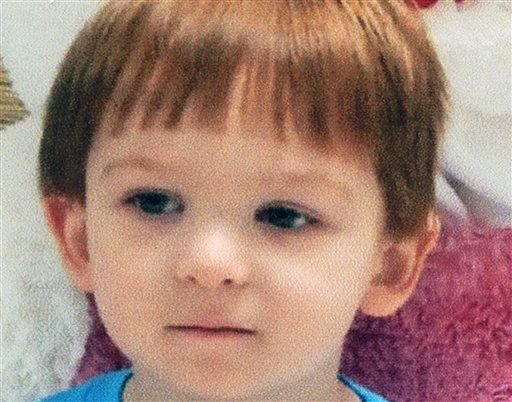 This undated photo provided by the Chester County District Attorney's Office, in Pennsylvania, shows 3-year-old Scott McMillan.