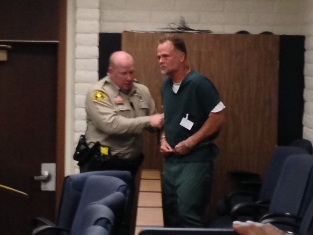 """Charles """"Chase"""" Merritt appeared in court Friday, but his arraignment was postponed."""