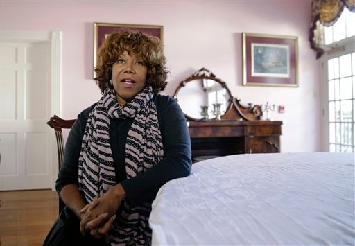Ruby Bridges speaks during in interview with the Associated Press in New Orleans, Friday, Nov. 14, 2014. (AP)