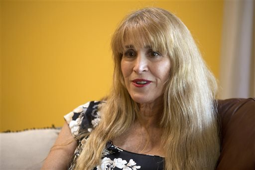 Nurse Therese Serignese, 57, discusses her experience with comedian Bill Cosby at her home on Thursday, Nov. 20, 2014, in Boca Raton, Fla. (AP)