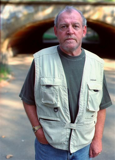 In this Sept. 12, 2000 file photo, singer Joe Cocker poses in Central Park in New York.