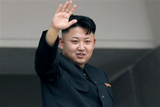 FILE - In this July 27, 2013 file photo, North Korea's leader Kim Jong Un waves to spectators and participants of a mass military parade celebrating the 60th anniversary of the Korean War armistice in Pyongyang, North Korea. (AP)