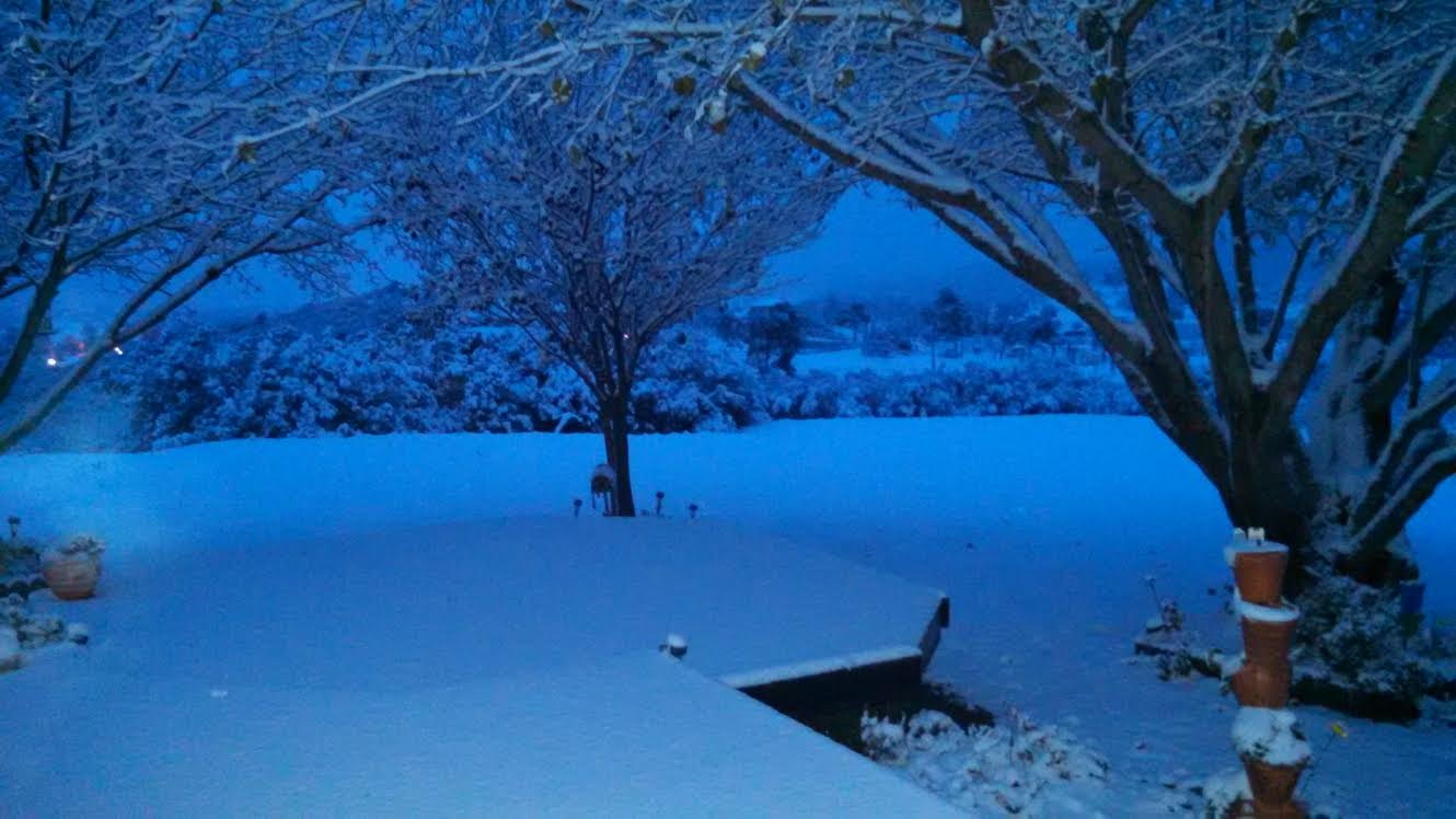 This picture was taken of the Campo/Lake Morena area by CBS News 8 viewer K. Bishop around 6:30 a.m. Wednesday, December 31, 2014.