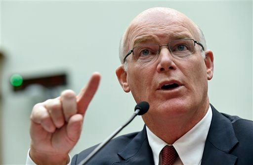 FILE - In this Nov. 19, 2014 file photo, acting Secret Service Director Joseph Clancy testifies on Capitol Hill in Washington. (AP)
