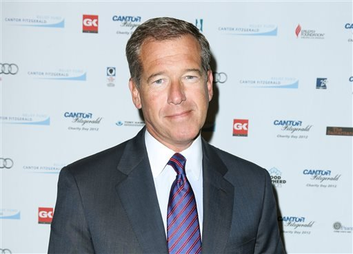 FILE - This Sept. 11, 2012 file image released by Starpix shows Brian Williams at the Cantor Fitzgerald Charity Day event in New York. (AP)