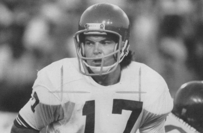 Jesse Freitas, seen at quarterback during the 1974 American Football Conference Coaches All-American game, played for Serra High School, Stanford, San Diego State and the San Diego Chargers.