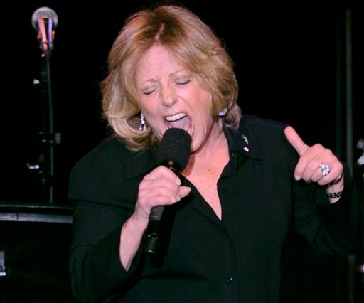 In this April 22, 2008, file photo, Lesley Gore performs at the ASCAP musical tribute which honored Quincy Jones with the ASCAP Pied Piper Award, in New York. (AP Photo/ Louis Lanzano, File)