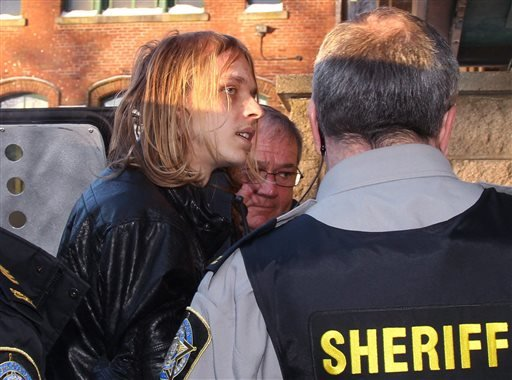 Randall Steven Shepherd arrives at provincial court in Halifax, Nova Scotia, on Tuesday, Feb. 17, 2015. (AP)
