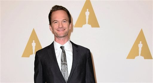 In this Monday, Feb. 2, 2015 file photo, Neil Patrick Harris arrives at the 87th Academy Awards nominees luncheon at the Beverly Hilton Hotel, in Beverly Hills, Calif. Harris, who has hosted the Emmy and Tony Awards, says taking on the task at the Oscars