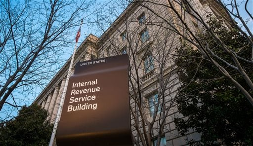 In this April 13, 2014 file photo, the Internal Revenue Service Headquarters (IRS) building is seen in Washington. The rich aren't taxed enough and the middle-class is taxed too much. As for your taxes, you probably think they're too high as well. Those a