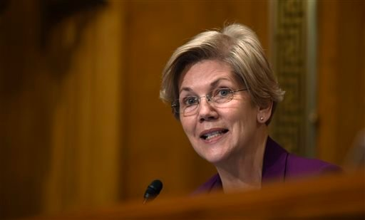 In this Jan. 21, 2015 file photo, Sen. Elizabeth Warren, D-Mass. speaks on Capitol Hill in Washington. The rich aren't taxed enough and the middle-class is taxed too much. As for your taxes, you probably think they're too high as well. Those are the resul