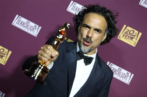 Alejandro Gonzalez Inarritu attends the 87th Academy Awards - 20th Century Fox and Fox Searchlight Oscar Party at BOA Steakhouse on Sunday, Feb. 22, 2015 in West Hollywood, Calif. (Photo by Omar Vega/Invision/AP)