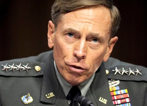 FILE - In this June 23, 2011, file photo, CIA Director nominee Gen. David Petraeus testifies on Capitol Hill in Washington, before the Senate Intelligence Committee during a hearing on his nomination. (AP)