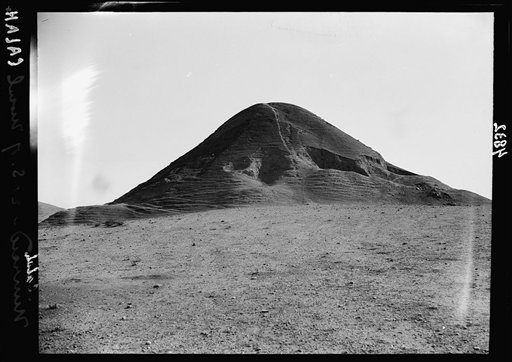 This undated handout photo provided by the Library of Congress taken during the autumn of 1932 shows a hill at the site of the ancient city of Nimrud, the second capital of Assyria, an ancient kingdom that began in about 900 B.C., south of Mosul, northern