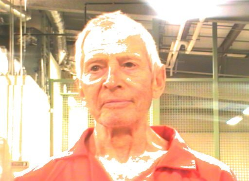 This booking photo provided by the Orleans Parish Sheriff's Office shows Robert Durst, after his Saturday, March 14, 2015 arrest in New Orleans on an extradition warrant to Los Angeles. (AP Photo/Orleans Parish Sheriff's Office)