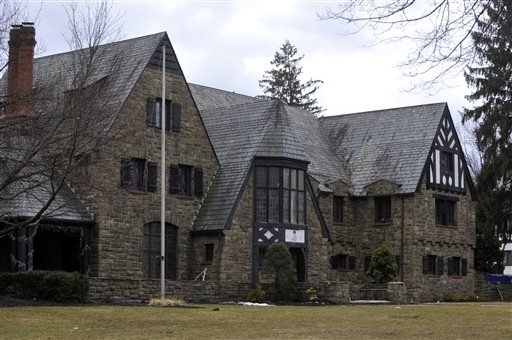 This Tuesday, March 17, 2015 photo shows The Kappa Delta Rho fraternity house at Penn State University in State College, Pa. (AP)