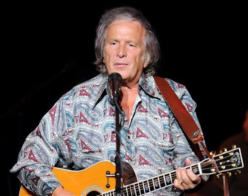 In this July 3, 2012 file photo provided by the Las Vegas News Bureau, Don McLean performs at the Las Vegas Hotel and Casino in Las Vegas.