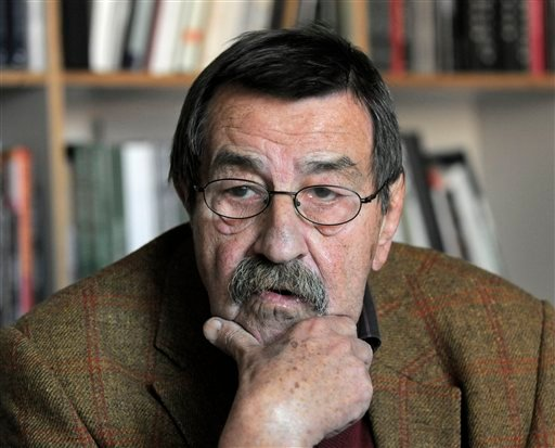 The Oct. 15, 2009 file photo shows German writer and Nobel price laureate for literature Guenter Grass during an interview with journalists of the Associated Press in the library of Steidl publishers in Goettingen, Germany. Nobel laureate Grass has died h
