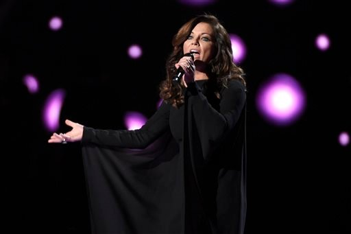 Martina McBride performs at the 50th annual Academy of Country Music Awards at AT&T Stadium on Sunday, April 19, 2015, in Arlington, Texas. (Photo by Chris Pizzello/Invision/AP)