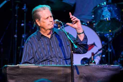 March 30, 2015 file photo, Brian Wilson performs on stage during Brian Fest: A Night To Celebrate The Music Of Brian Wilson at the Fonda Theatre in Los Angeles. (Photo by Paul A. Hebert/Invision/AP, File)