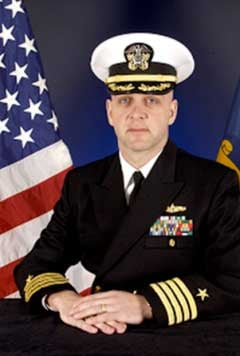 Capt. John Banigan - Photo U.S. Navy