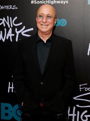 "In this Oct. 14, 2014 file photo, bandleader Paul Shaffer attends the premiere of HBO's ""Foo Fighters Sonic Highway"" in New York."