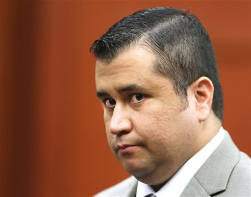 In this July 9, 2013, file photo, George Zimmerman leaves the courtroom for a lunch break his trial in Seminole Circuit Court, in Sanford, Fla. Police officers in Florida say Zimmerman has been involved in a shooting, Monday, May 11, 2015. Zimmerman was