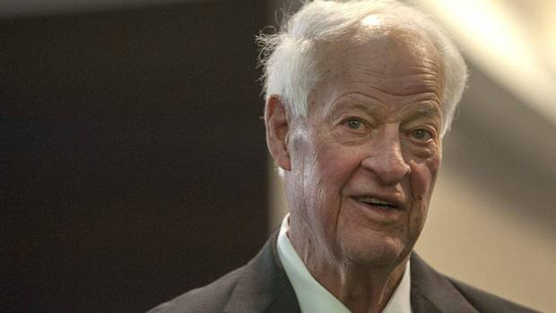Gordie Howe, 87, at a public appearance two months after his stem cell treatments
