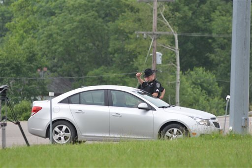 Authorities continue a search for two prisoners that escaped Clinton Correctional Facility two weeks ago, Saturday, June 20, 2015, in Allegany County, N.Y. The search for the two killers landed Saturday in New York's southern tier near the Pennsylvania bo