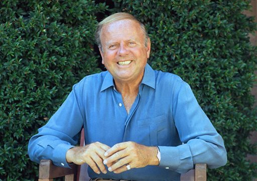 In this Oct. 13, 1987 file photo, actor Dick Van Patten is photographed in Los Angeles.