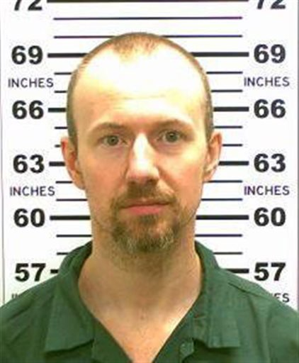 This May 21, 2015, file photo released by the New York State Police shows David Sweat.