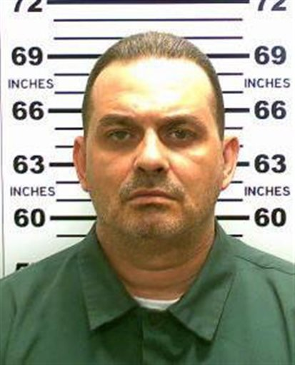 This May 20, 2015, file photo released by the New York State Police shows Richard Matt.