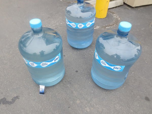 The 15 gallons of liquid meth are worth approximately $610,000.