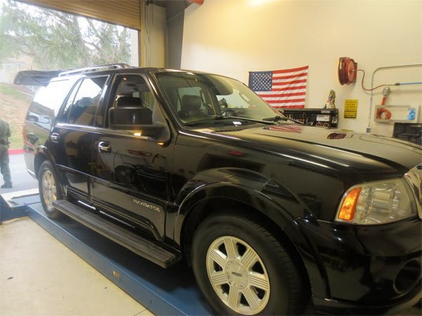Agents at the Interstate 5 checkpoint referred a Lincoln Navigator SUV for a secondary inspection.